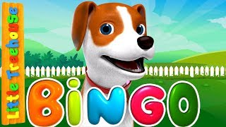 Bingo Was His Name O | Kindergarten Songs and Videos for Children