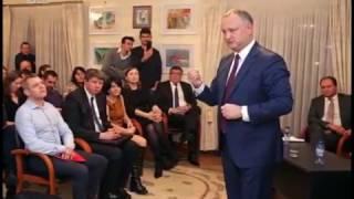 Dodon, luat la rost de moldovenii stabiliti la Bruxelles