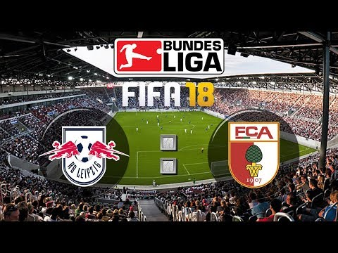 FIFA 18 Bundesliga RB Leipzig : FC Augsburg | Gameplay Deutsch Livestream