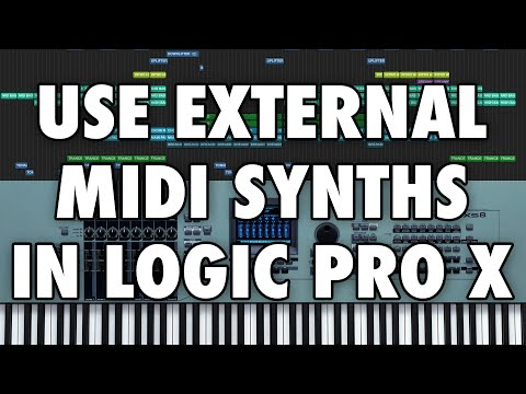 Logic Pro X - Use External MIDI Synthesizers and Instruments