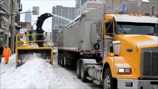 MONTREAL SNOW REMOVAL OP. DEC. 30 TH 2015