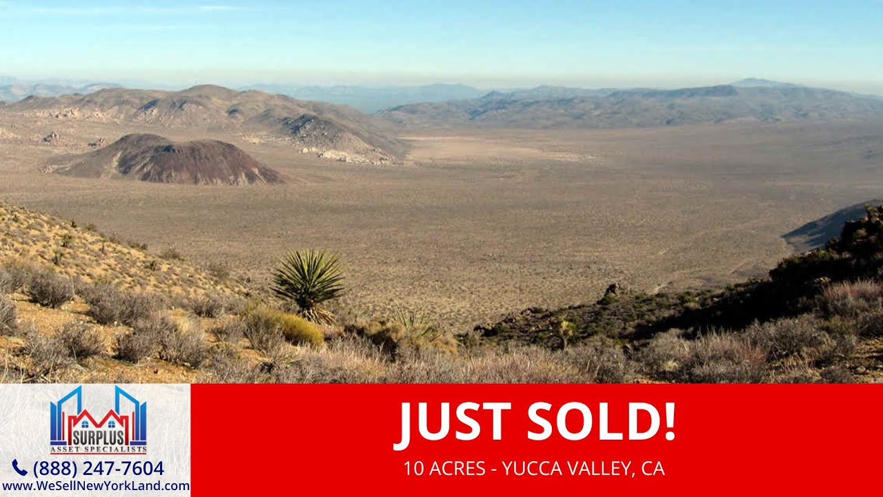 Yucca Valley, CA - Land For Sale Owner Financing - Surplus Asset Specialists Inc.
