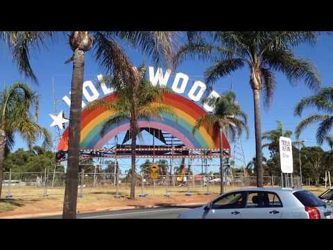 Hollywood Plaza Billboard Demolition (02-Feb-2018)