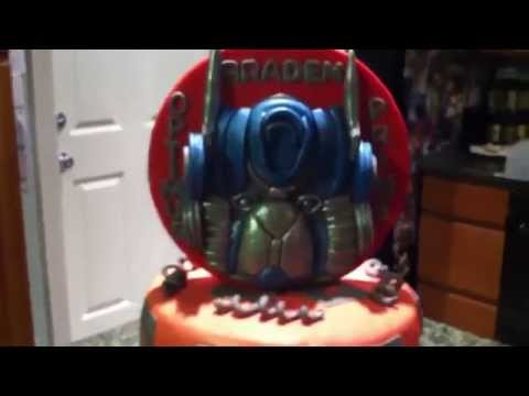 Optimus Prime Fondant Cake
