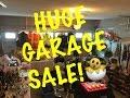 Winter Garage Sale!