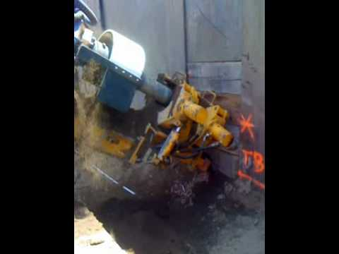 Vertical Earthworks - Tieback Drilling with Casing