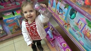 VLOG поход в детский магазин игрушки шопинг Shopping children's toys store Peppa Pig Lalaloopsy Evi(, 2015-03-21T09:10:17.000Z)