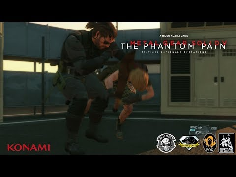 MGSV TPP - Side Ops 113 ''Eli's Challenge'' (No Traces) CQC Only Boss Fight