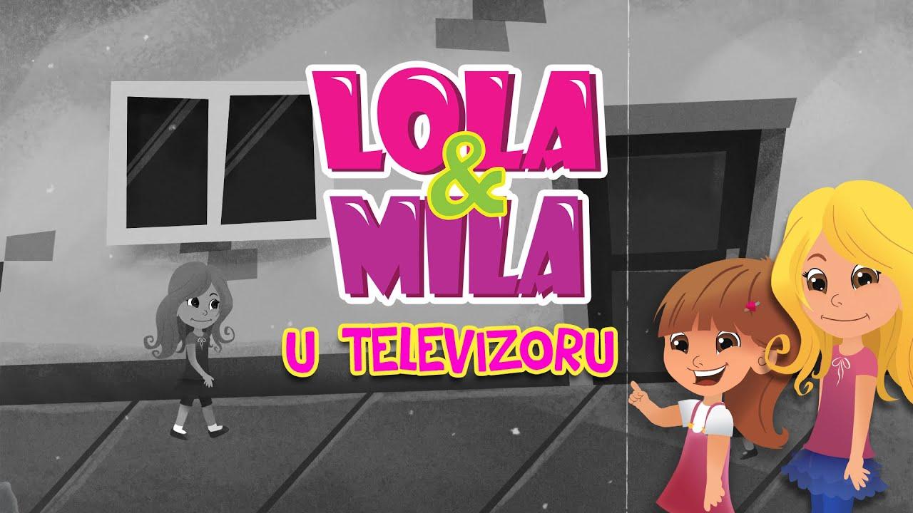 LOLA & MILA // U TELEVIZORU // CRTANI FILM (2020)