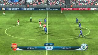 PES 2012 pc Arsenal FC vs Chelsea FC patch 1.2