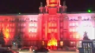 Световое шоу Екатеринбург