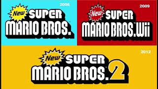 New Super Mario Bros  DS+Wii+2 Overworld mashup