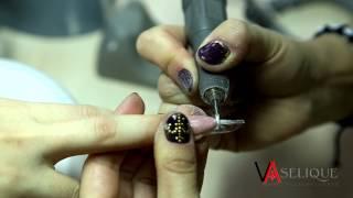 Наращивание гелевых ногтей зеленый френч(Наращивание гелевых ногтей зеленый френч., 2015-02-12T06:49:04.000Z)