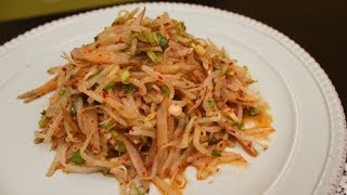 How to Make Korean Bean Sprout Salad (숙주나물 무침)
