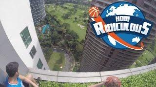 Lucky 110m Basketball Shot! thumbnail
