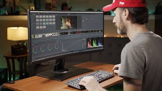 My new video editing monitor - ViewSonic VP3481 Review