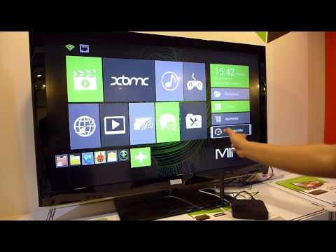 MINIX NEO X8 (Amlogic S802) & NEO M1 Remote Demo