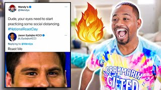 WENDYS CLAPBACKS ARE BACK !! | TOP 60 Funniest Roasts | Alonzo Lerone
