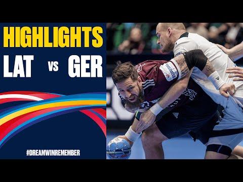 Latvia vs. Germany Highlights   Day 5   Men's EHF EURO 2020