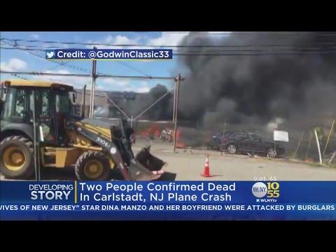 NTSB Heads To Scene Of Fiery New Jersey Plane Crash
