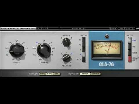 Comprimiendo voces con CLA-76 de Waves