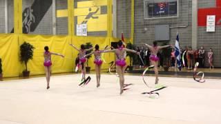 trillium rhythmic 2015 junior group 5 ribbon national junior group