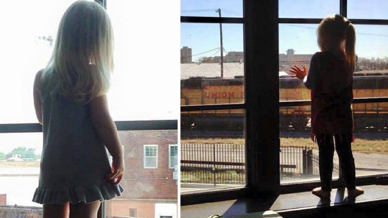 Mädchen winkt dem Zug jeden Tag, 3 Jahre später sieht der