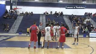 Lancers vs Tewksbury  in  Boys Basketball 2017