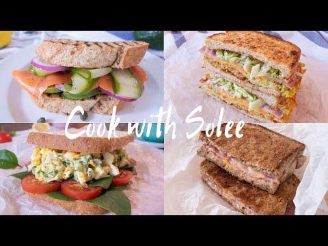 The Best Sandwich Recipes | 最强三明治食譜 |Breakfast Sandwich | 早餐三明治