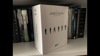 The James Bond Collection Blu Ray Unboxing