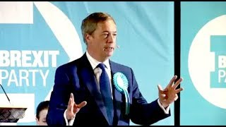 Nigel Farage: Our problem is not in Brussels - Brexit Party rally, Lincoln, 10.05.2019