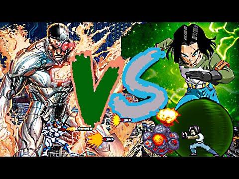 Android 17 vs Cyborg