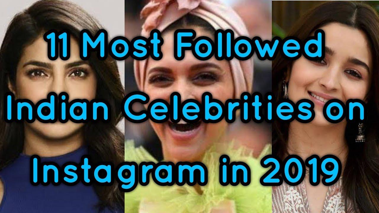 11 Most Followed Indian Celebrities on Instagram in 2019