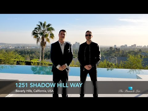 1251 Shadow Hill Way | Beverly Hills, California | The Joseph Ferrugio Design Story | Marcus Anthony