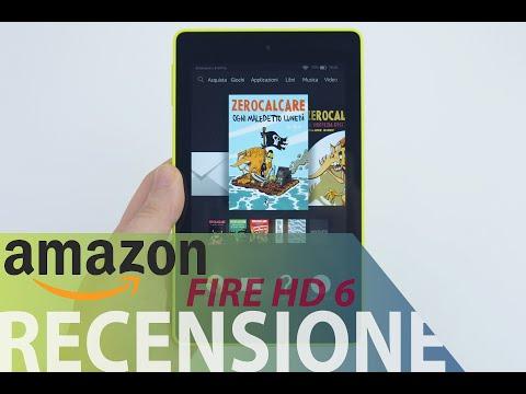 Amazon Fire HD 6, recensione in italiano