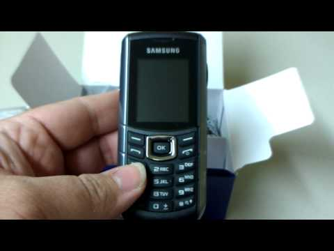 SAMSUNG E2370 Unboxing Video - Phone in Stock at www.welectronics.com