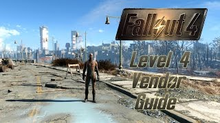 Fallout 4 Guide Alle Stufe 4 H ndler Level 4 Vendors