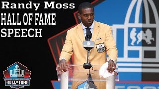 Randy Moss FULL Hall of Fame Speech | 2018 Pro Football Hall of Fame | NFL