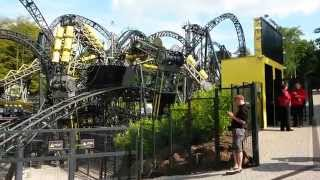 The Smiler Alton Towers testing 11/09/15