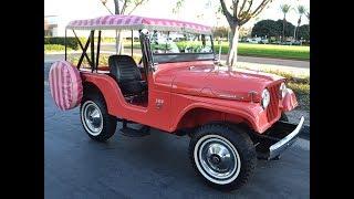 SOLD 1966 Jeep Indian Ceramic CJ5A Tuxedo Park Mark IV