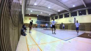 Laumetris vs KTU Mintonet 2 setas (1:3) 2015 11 26
