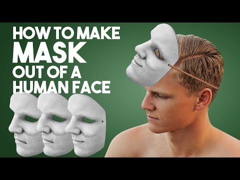 How to Create Mask Out of a Human Face in Photoshop