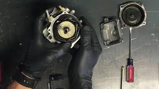 HOW TO - Clean Carburetor Carb Suzuki King Quad 300 Rebuild Kit Gas Fuel Cleaner GUMOUT 13200-19B92