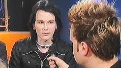 Arska Tiainen, Timo Kotipelto ja Suvi-Anne Siimes keskustelevat musiikkiviennistä vuonna 1998