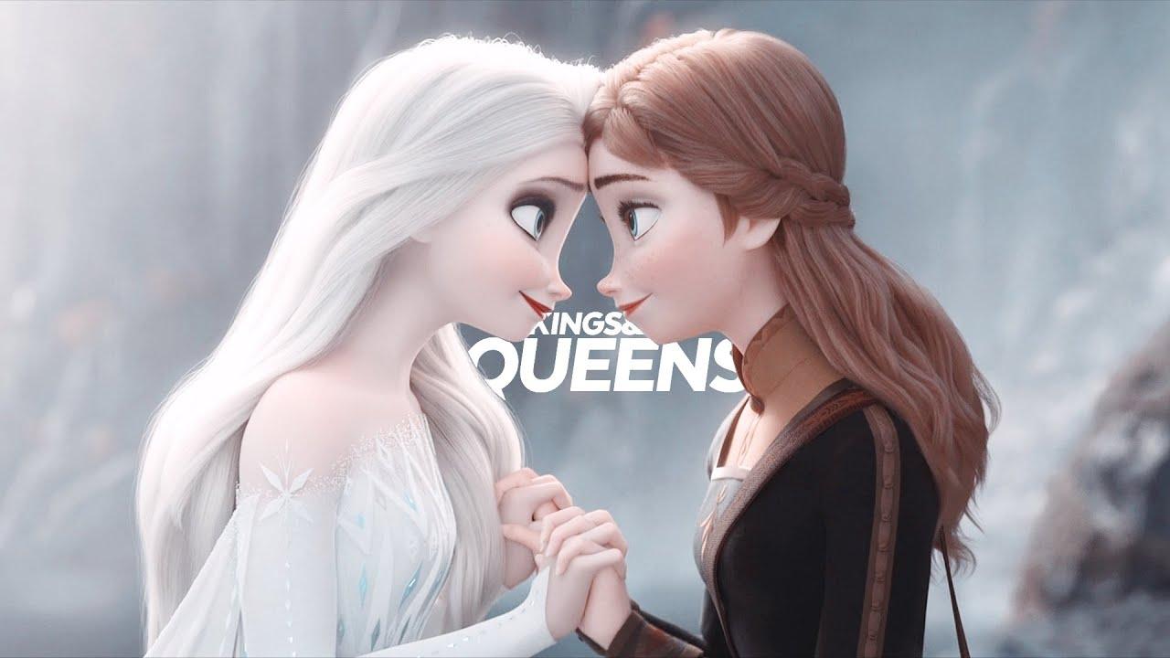 Download (kings&) queens | disney princesses