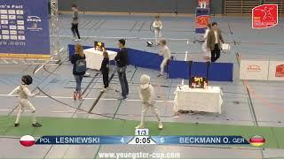 2018 M F Individual Kolkwitz GER Brandenburg Cup GREEN LESNIEWSKI POL vs BECKMANN GER