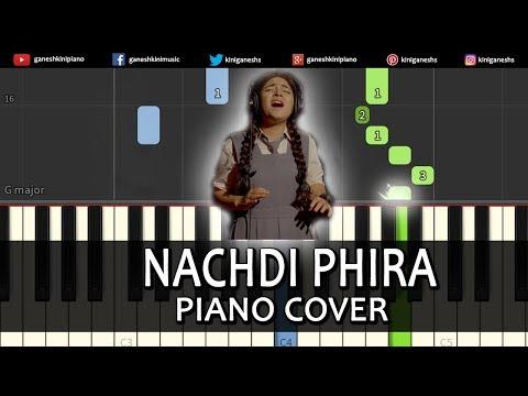 Nachdi Phira Song Secret Superstar   Piano Cover Chords Instrumental By Ganesh Kini