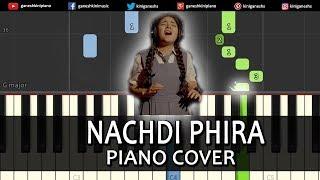 Nachdi Phira Song Secret Superstar | Piano Cover Chords Instrumental By Ganesh Kini
