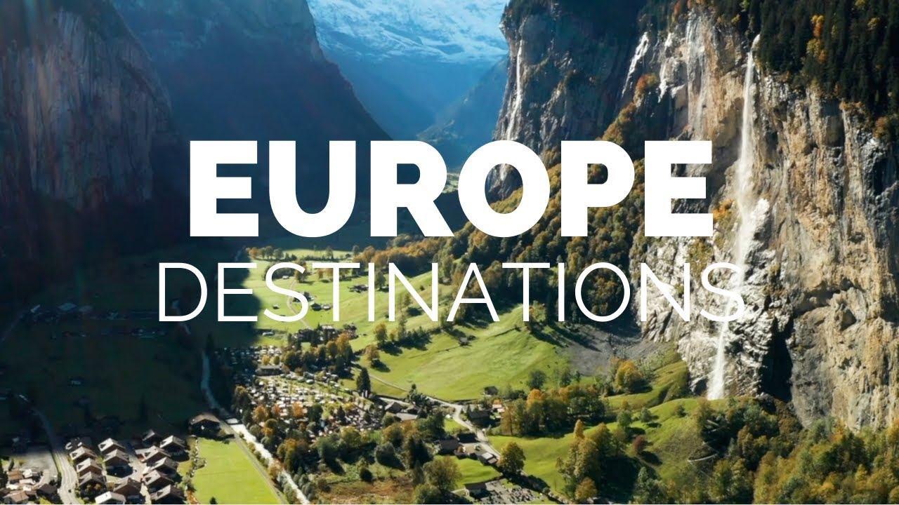 25 Most Beautiful Destinations in Europe - Travel Video