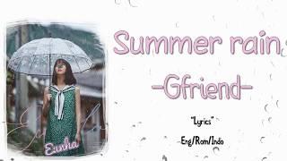 Video Gfriend - Summer rain Lyrics (INDOSUB) download MP3, 3GP, MP4, WEBM, AVI, FLV Juli 2018